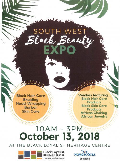 South West Black Beauty Expo   Black Loyalist Heritage Centre